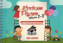 Yurtrenkleri - Kardeşim Piyano Volume 1-2 Piyano Metodu + DVD