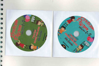 Kardeşim Piyano Volume 1-2 Piyano Metodu + DVD