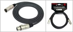 KIRLIN - Kirlin MW-480-BK 3M Mikrofon Kablosu