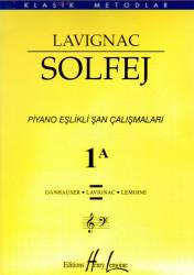 Portemem - Lavignac 1A Solfej-Piyano Eşlikli Şan Çalışmaları