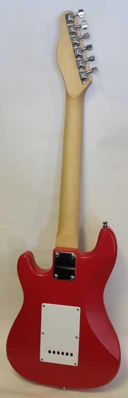 Tt Sisters Rf 20jr Kırmızı çocuk Elektro Gitar Set Boya Defolu