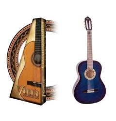 Valencia - Valencia VC102BUS 1/2 Mavi Klasik Çocuk Gitarı